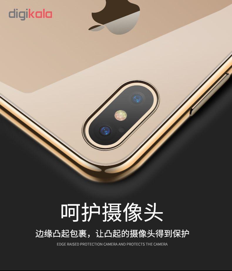 کاور آی دوژی مدل Electroplate Pc مناسب برای گوشی موبایل اپل iPhone XS Max main 1 10