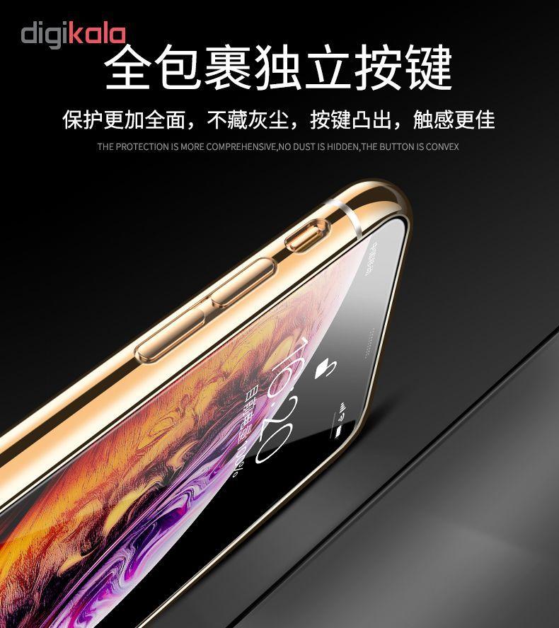 کاور آی دوژی مدل Electroplate Pc مناسب برای گوشی موبایل اپل iPhone XS Max main 1 12