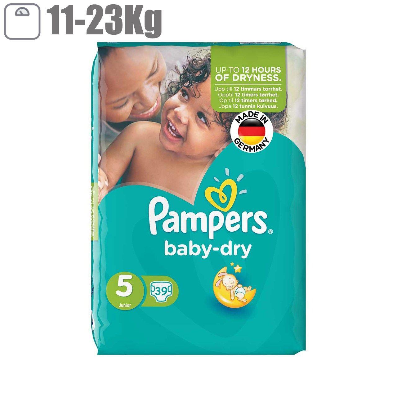 پوشک پمپرز مدل Baby Dry سایز 5 بسته 39 عددی main 1 1