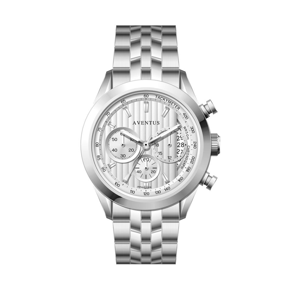 ساعت مچی عقربه ای مردانه اونتوس مدل 1346-1GWH 8