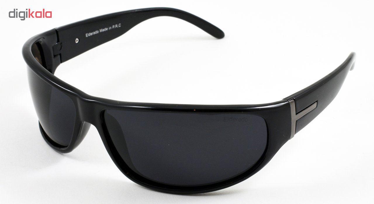 عینک آفتابی الدرادو مدل Big Wide Black