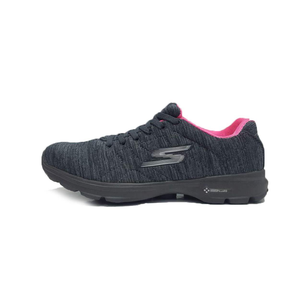 کفش مخصوص پیاده روی زنانه اسکچرز مدل GO WALK 3-GREY/PEA