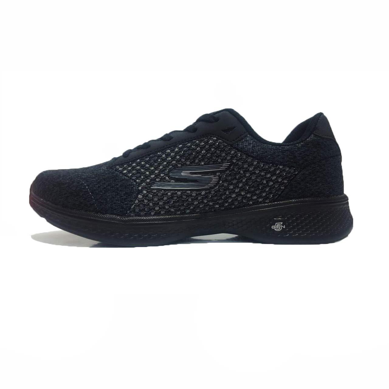 کفش مخصوص پیاده روی زنانه اسکچرز مدل Go Walk 4  BLAK/ GRY