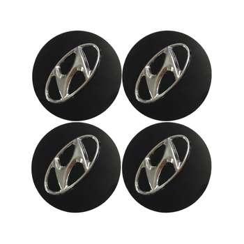 قالپاق چرخ مدل هیوندای مناسب برای رینگ های اسپرت فابریک هیوندای - بسته 4 عددی