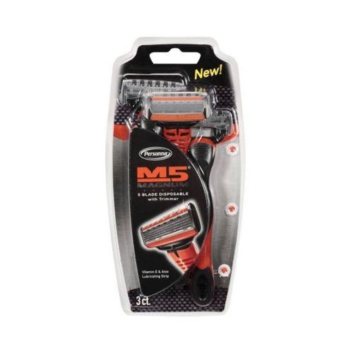 خودتراش پرسونا مدل Magnum M5 بسته 3 عددی