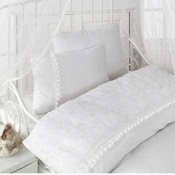 سرویس ملحفه کودک کاتن باکس طرح Welcome Baby  یک نفره 4 تکه | Cotton Box Welcome Baby  Child Bedsheet Set 1 Person 4 Pcs