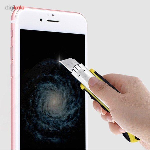 محافظ صفحه نمایش شیشه ای مدل 3D CP Plus MAX مناسب برای گوشی موبایل آیفون 6 پلاس/6s پلاس main 1 11