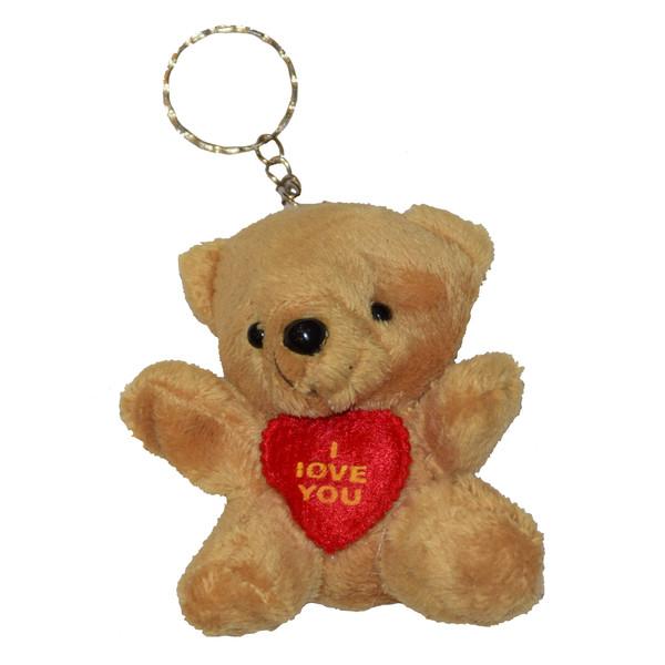 آویز عروسکی طرح خرس مدل 01