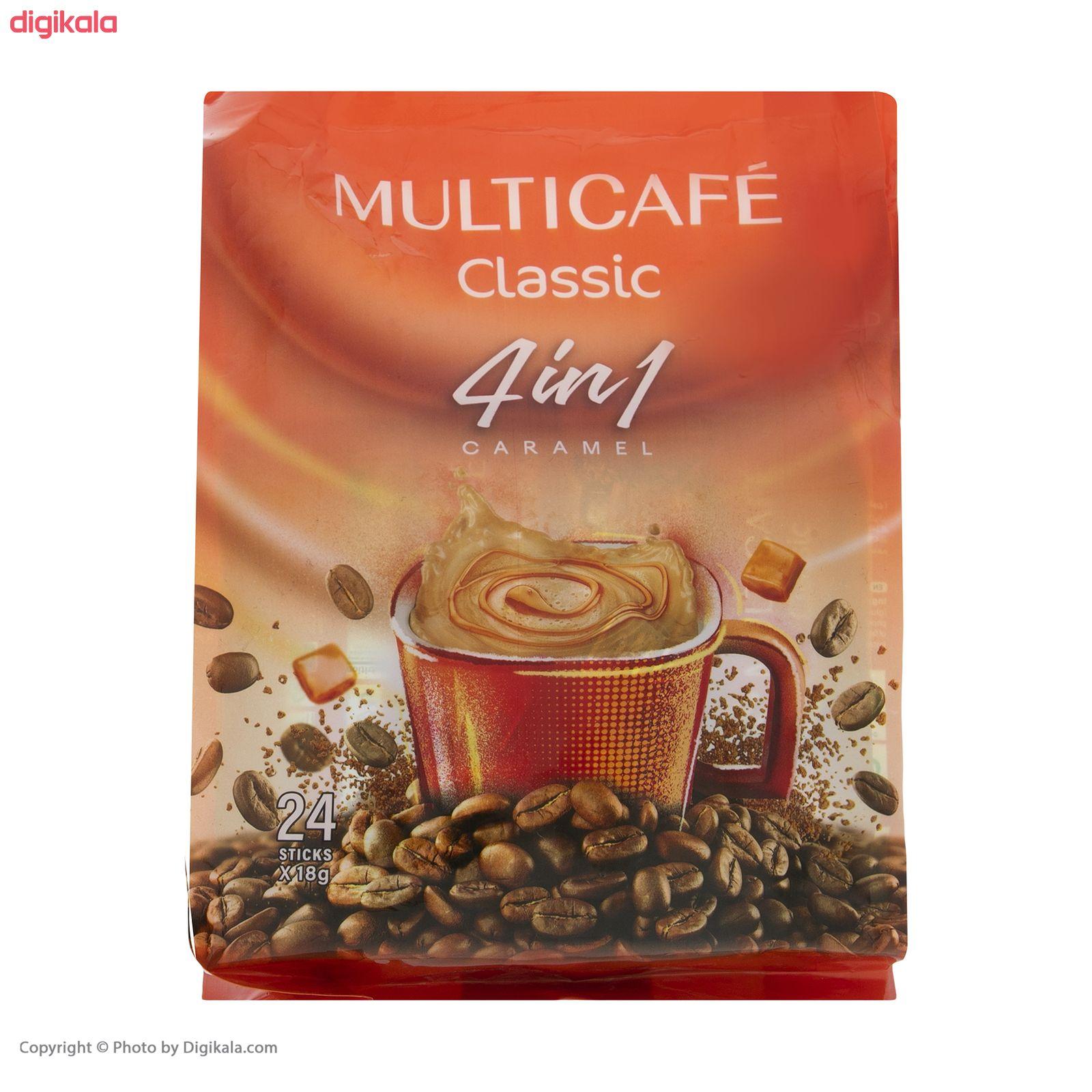 پودر قهوه فوری 1 × 4 کلاسیک مولتی کافه - 18 گرم بسته 24 عددی main 1 5