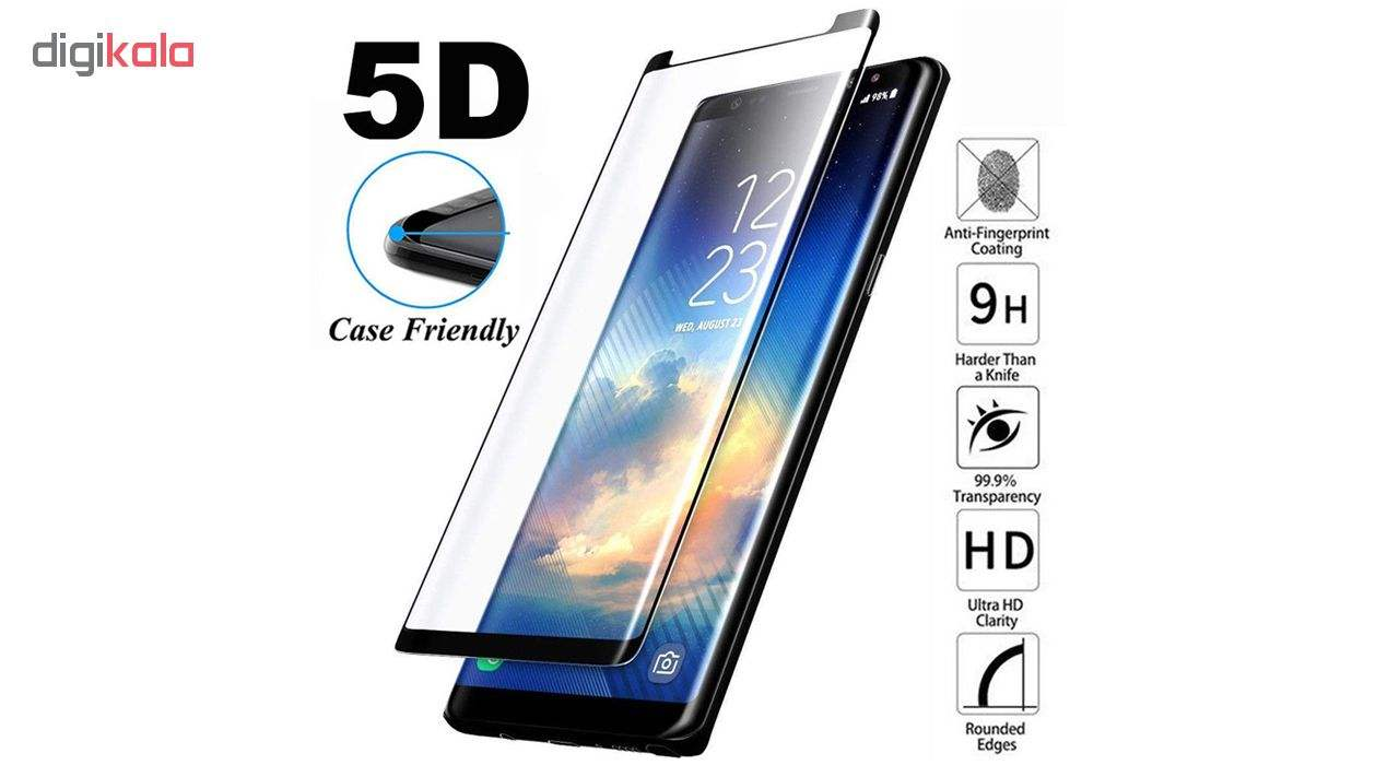 محافظ صفحه نمایش اسپایدر مدل Super Hard 5D مناسب برای گوشی موبایل سامسونگ galaxy Note 9 main 1 1