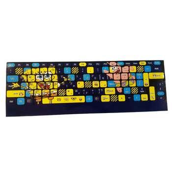 برچسب حروف فارسی کیبورد طرح SpongeBob