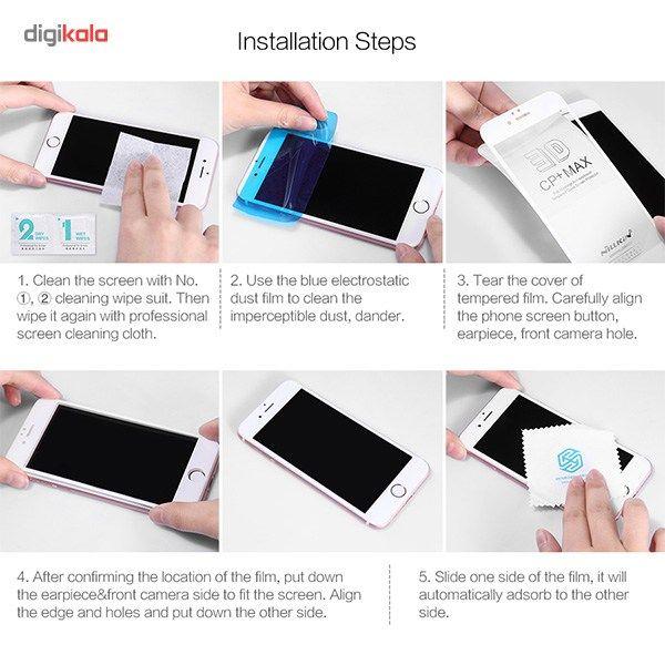 محافظ صفحه نمایش شیشه ای مدل 3D CP Plus MAX مناسب برای گوشی موبایل آیفون 6 پلاس/6s پلاس main 1 16