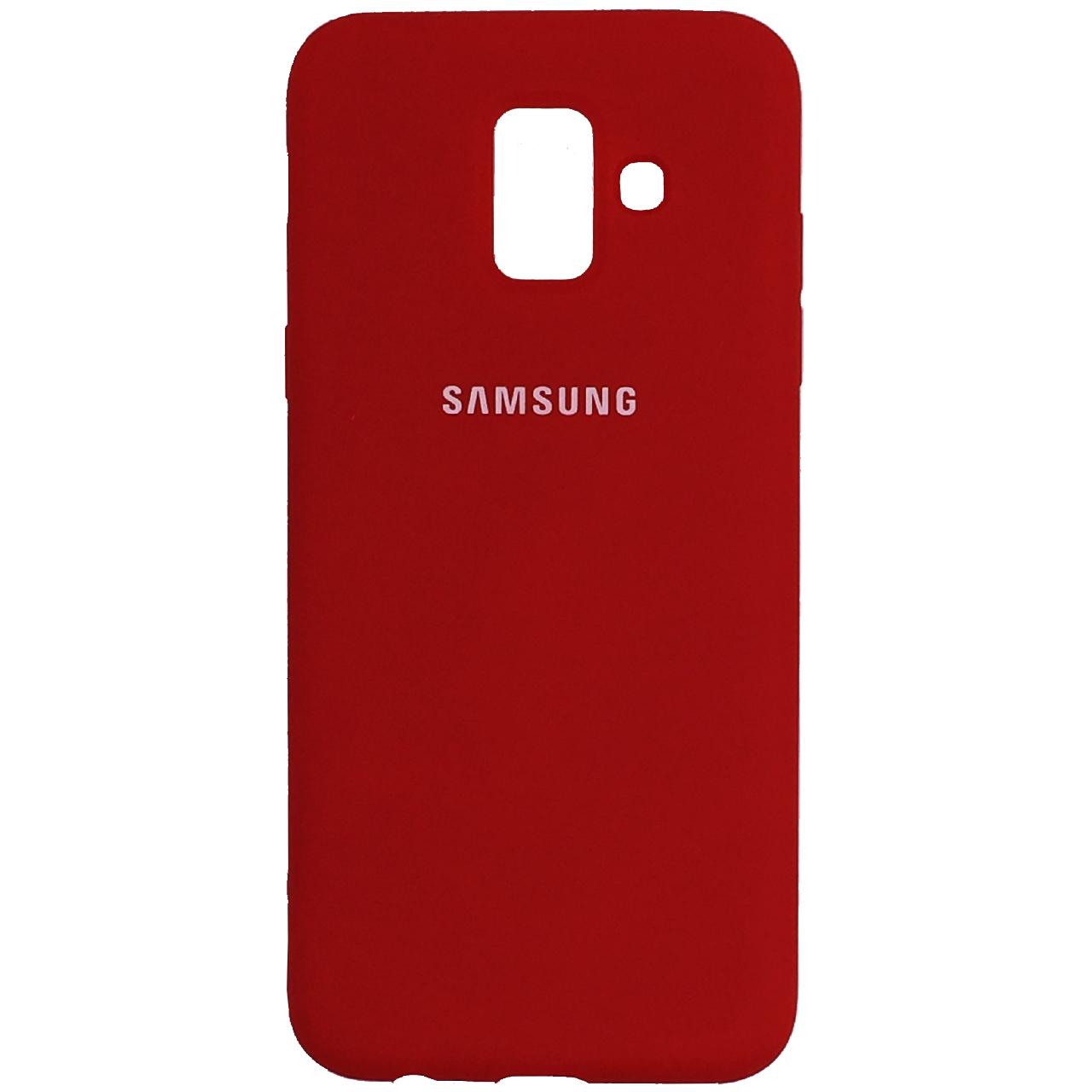 کاور سیلیکونی مدل زیر بسته مناسب برای گوشی موبایل سامسونگ A6              ( قیمت و خرید)