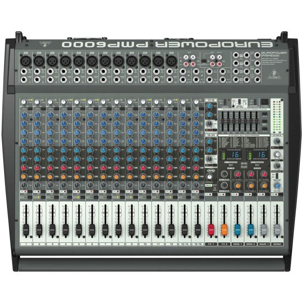 پاور میکسر آنالوگ بهرینگر مدل PMP6000
