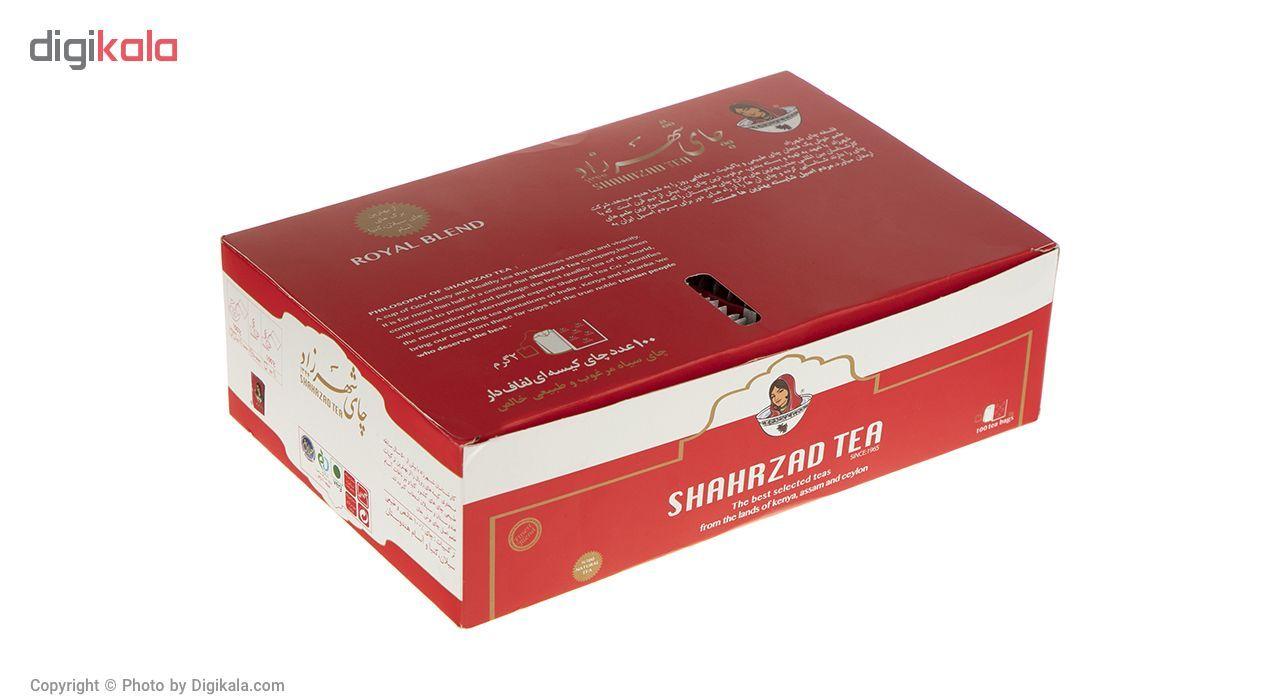 چای کیسه ای شهرزاد بسته 100 عددی main 1 6