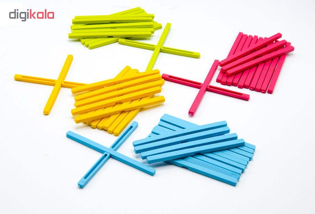 بازی آموزشی کارا مدل چوب خط و چینه کد z3 بسته2 عددی  main 1 1