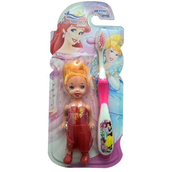 مسواک کودک لمسر به همراه عروسک مدل M01