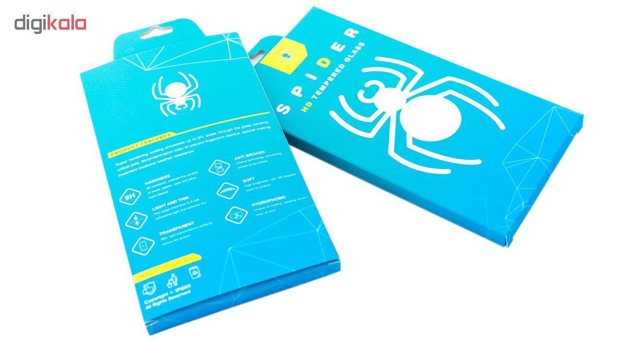 محافظ صفحه نمایش اسپایدر مدل Super Hard 5D مناسب برای گوشی موبایل سامسونگ galaxy Note 9 main 1 2