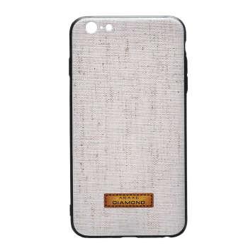 کاور دیاموند مدل Cream Fabric مناسب برای گوشی موبایل آیفون 7