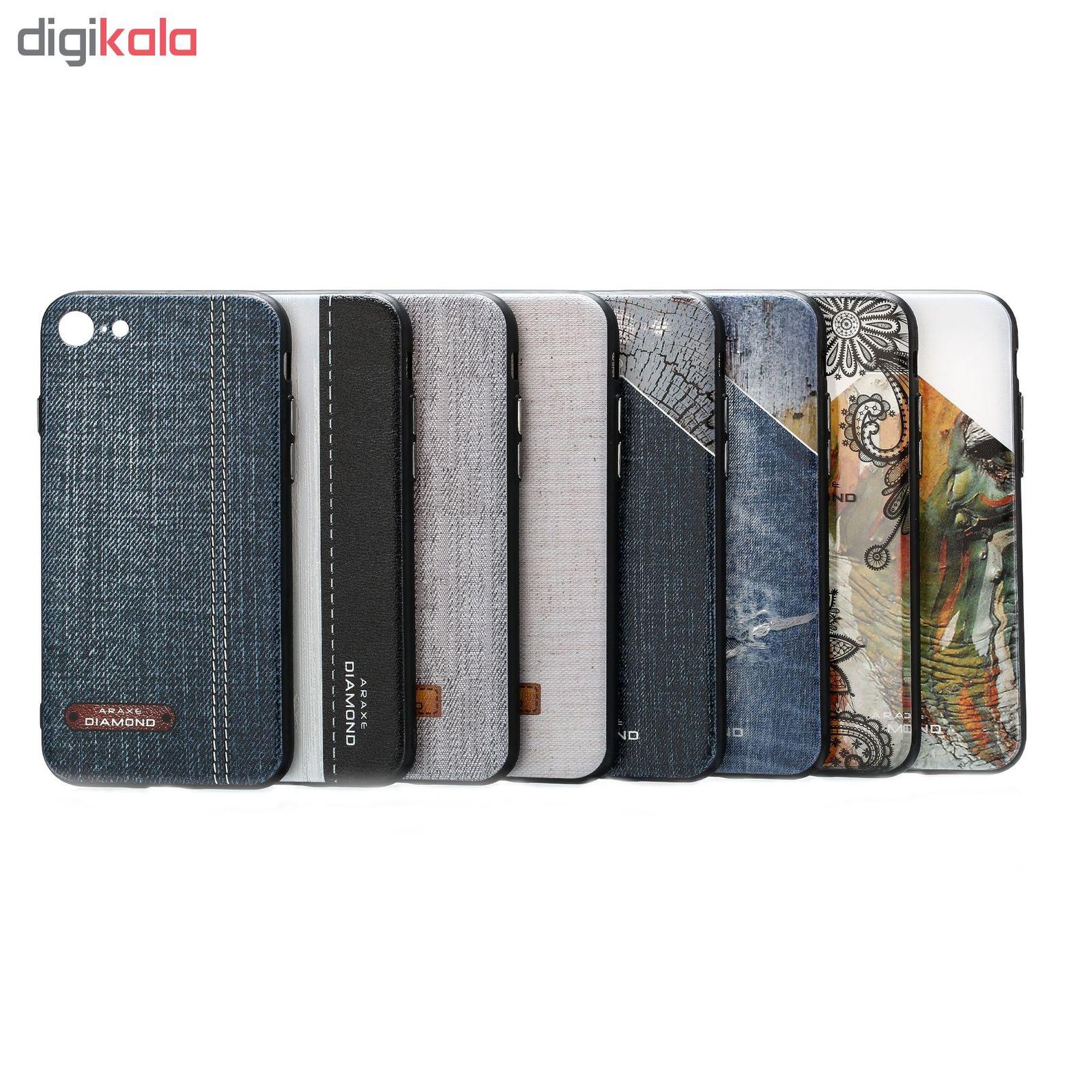 کاور دیاموند مدل Cream Fabric مناسب برای گوشی موبایل آیفون 7 main 1 2