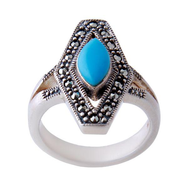 انگشتر نقره زنانه بازرگانی میلادی AW_342