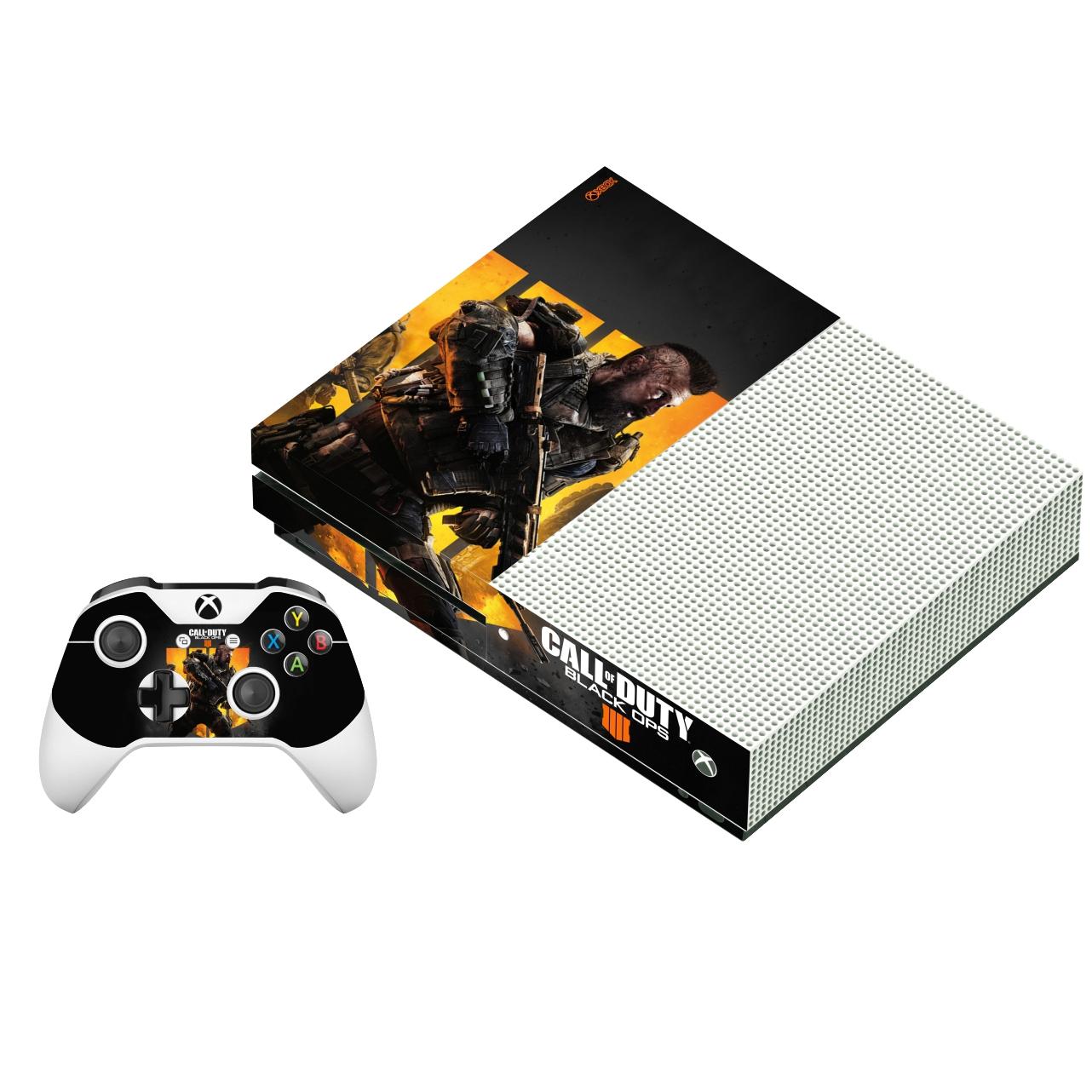 برچسب ایکس باکس وان اس پلی اینفینی مدل Call Of Duty Black Ops 4