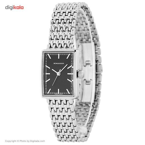 ساعت مچی عقربه ای زنانه رومانسون مدل DM5163LL1WA32W              ارزان