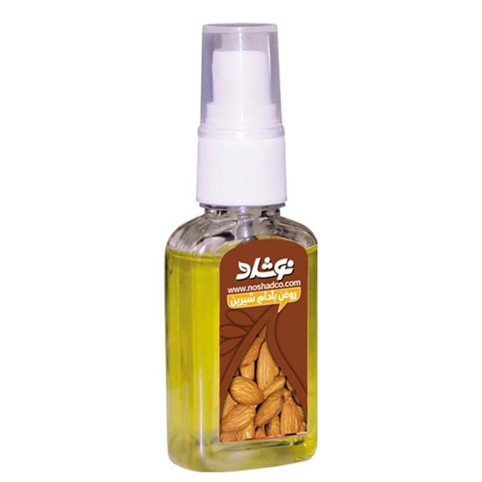 قیمت روغن بادام شیرین نوشاد مدل Sweet Almond Oil حجم 37 میلی لیتر