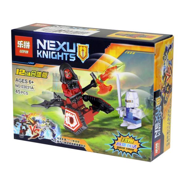 ساختنی لپین مدل Nexu Knights 03031A