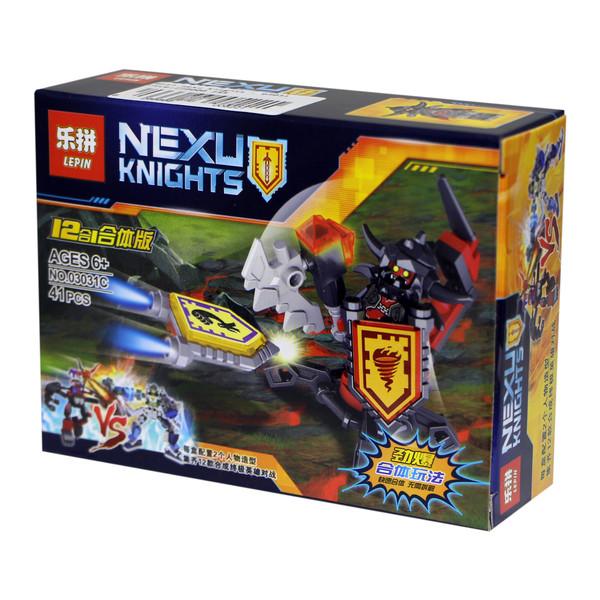 ساختنی لپین مدل Nexu Knights 03031C