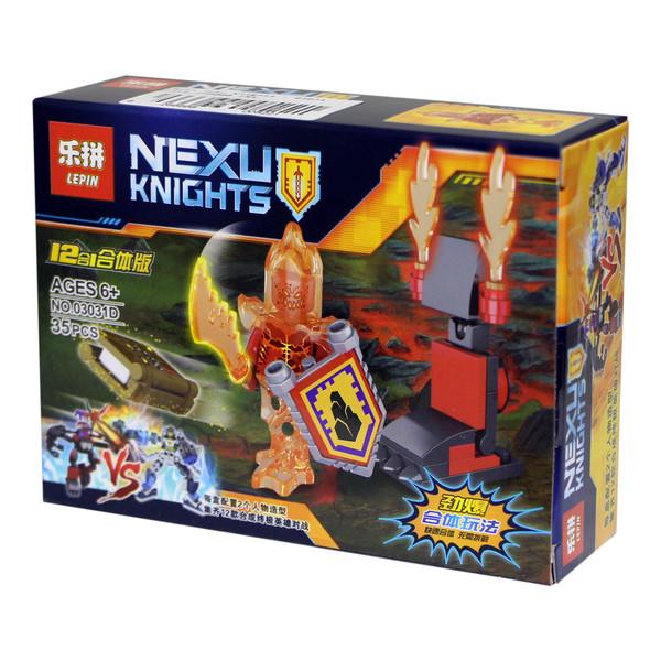 ساختنی لپین مدل Nexu Knights 03031D
