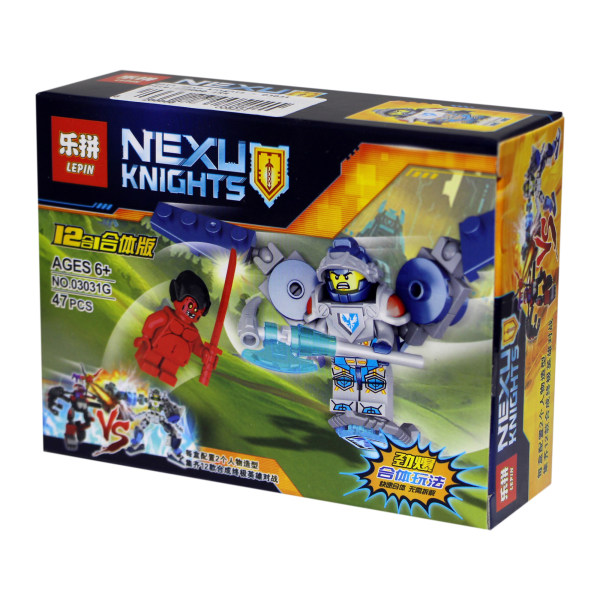 ساختنی لپین مدل Nexu Knights 03031G