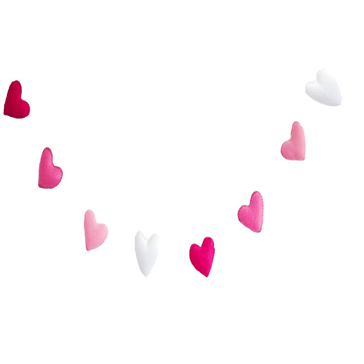 آویز تخت کودک هیاهو مدل Hearts