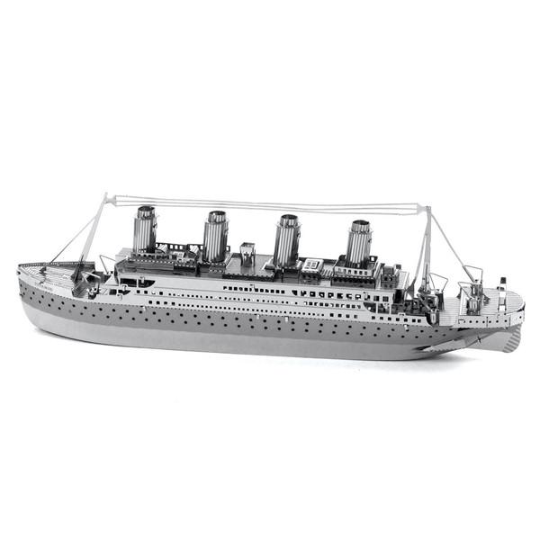 پازل سه بعدی فلزی مدل کشتی تایتانیک