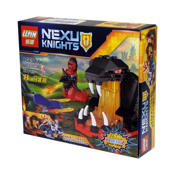 ساختنی لپین مدل Nexu Knights 03033B