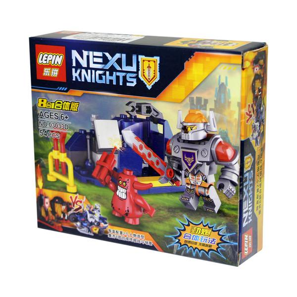 ساختنی لپین مدل Nexu Knights 03033D