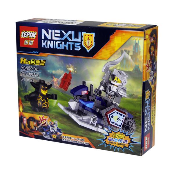 ساختنی لپین مدل Nexu Knights 03033G