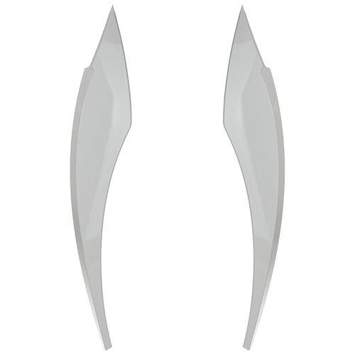 ابرویی چراغ جلو خودرو مدل Pen S108 مناسب برای تیبا(سفید)