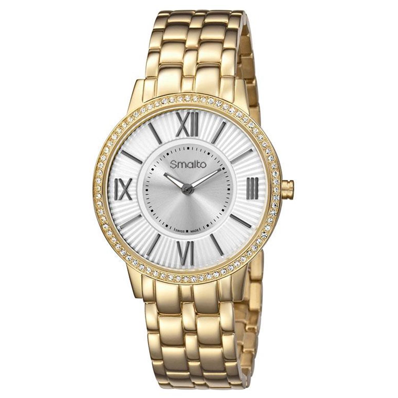 ساعت مچی عقربه ای زنانه اسمالتو مدل ST1L106M0061