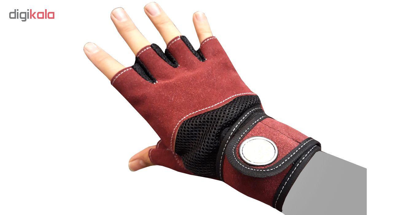 دستکش بدنسازی مردانه کد 2019