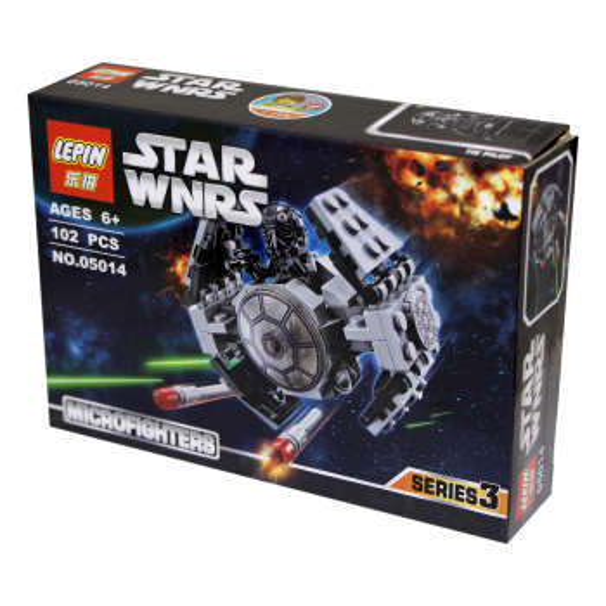 ساختنی لپین مدل Star Wars 05014