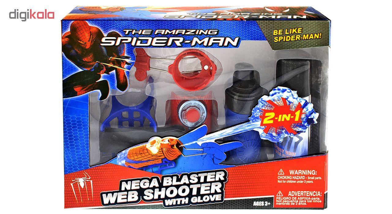 مشخصات قیمت و خرید ست اسباب بازی پرتاب تار مرد عنکبوتی مدل Spiderman دیجی کالا