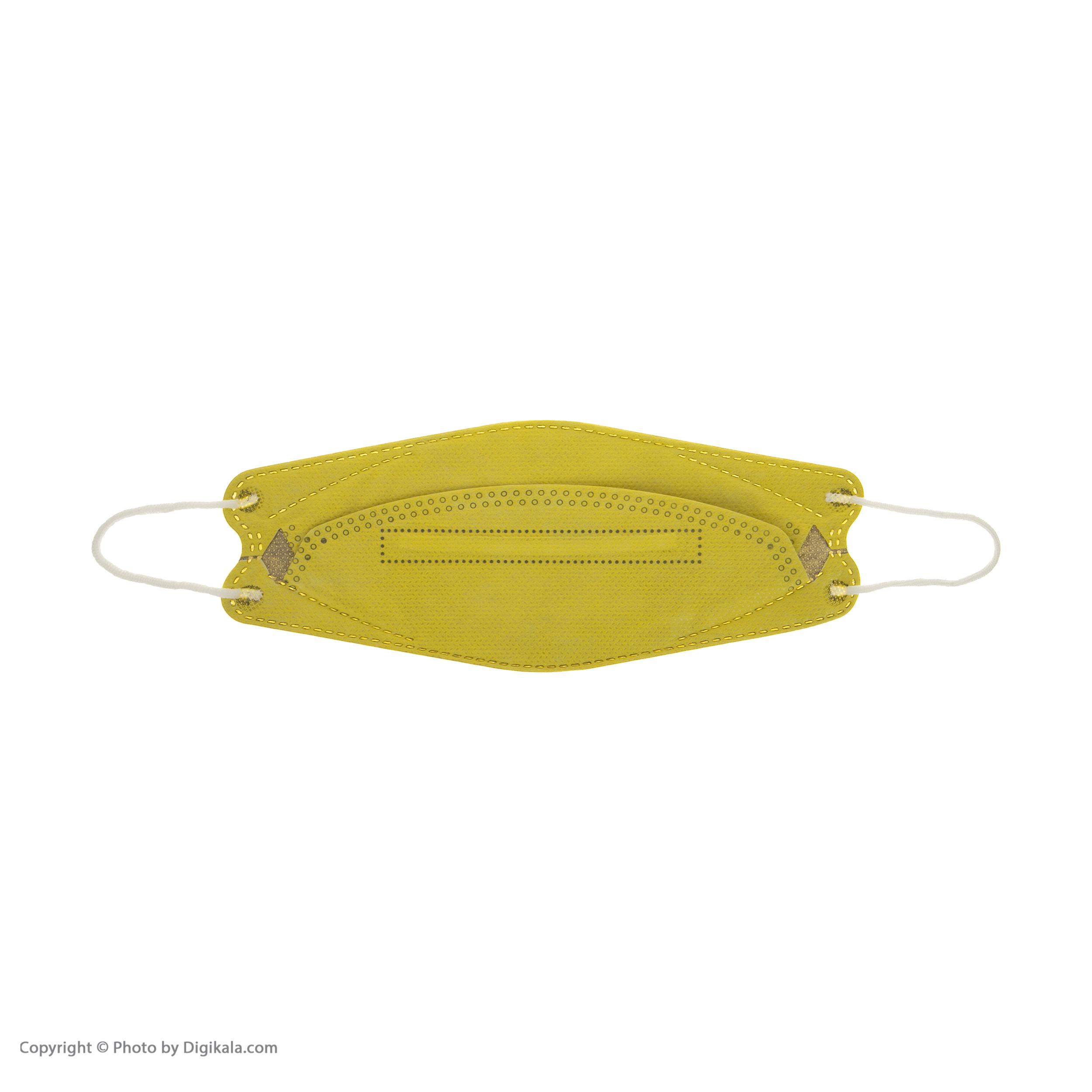 ماسک تنفسی اکسیر مدل KF94 کد EXR002 بسته 25 عددی