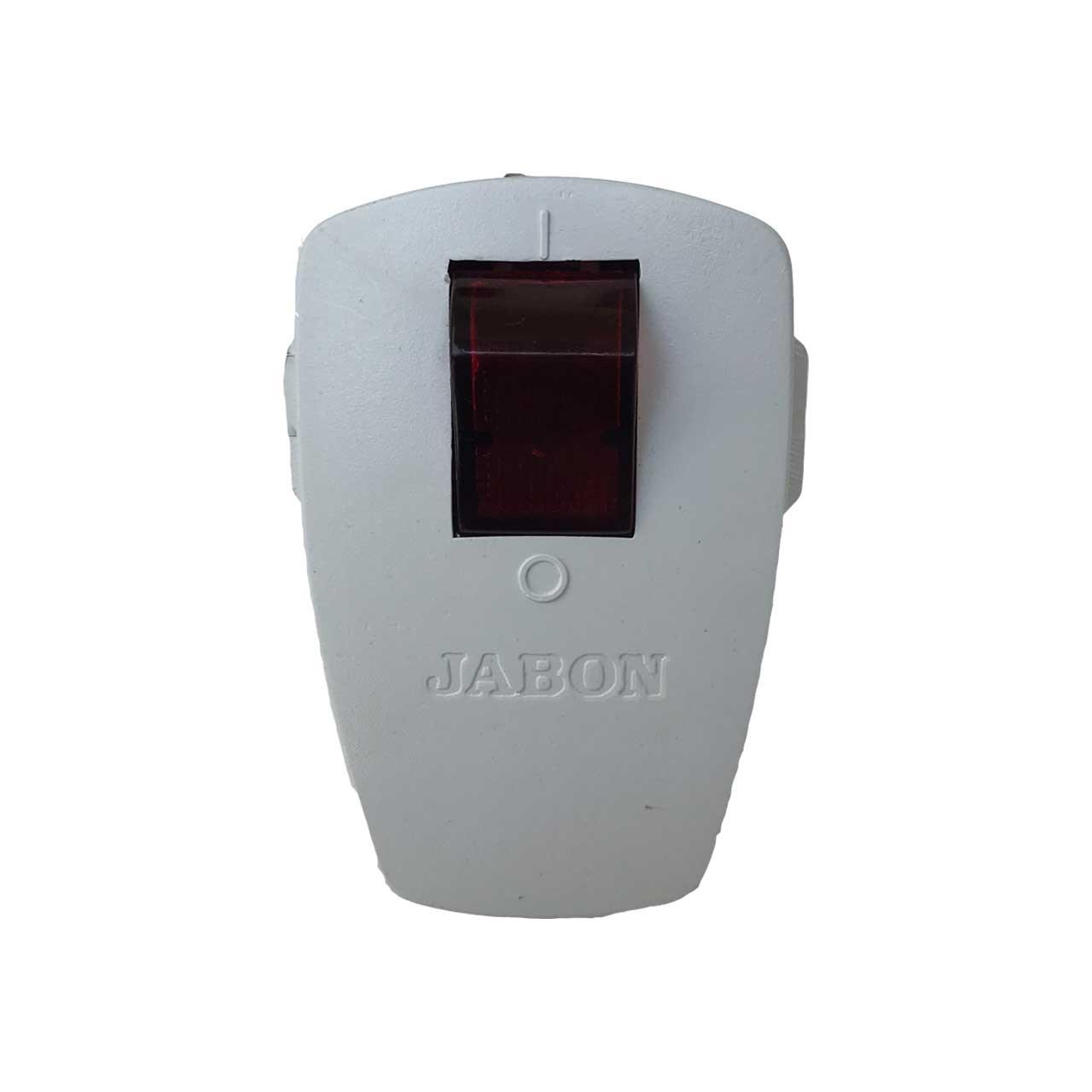 دوشاخه برق جابون مدل کلید دار