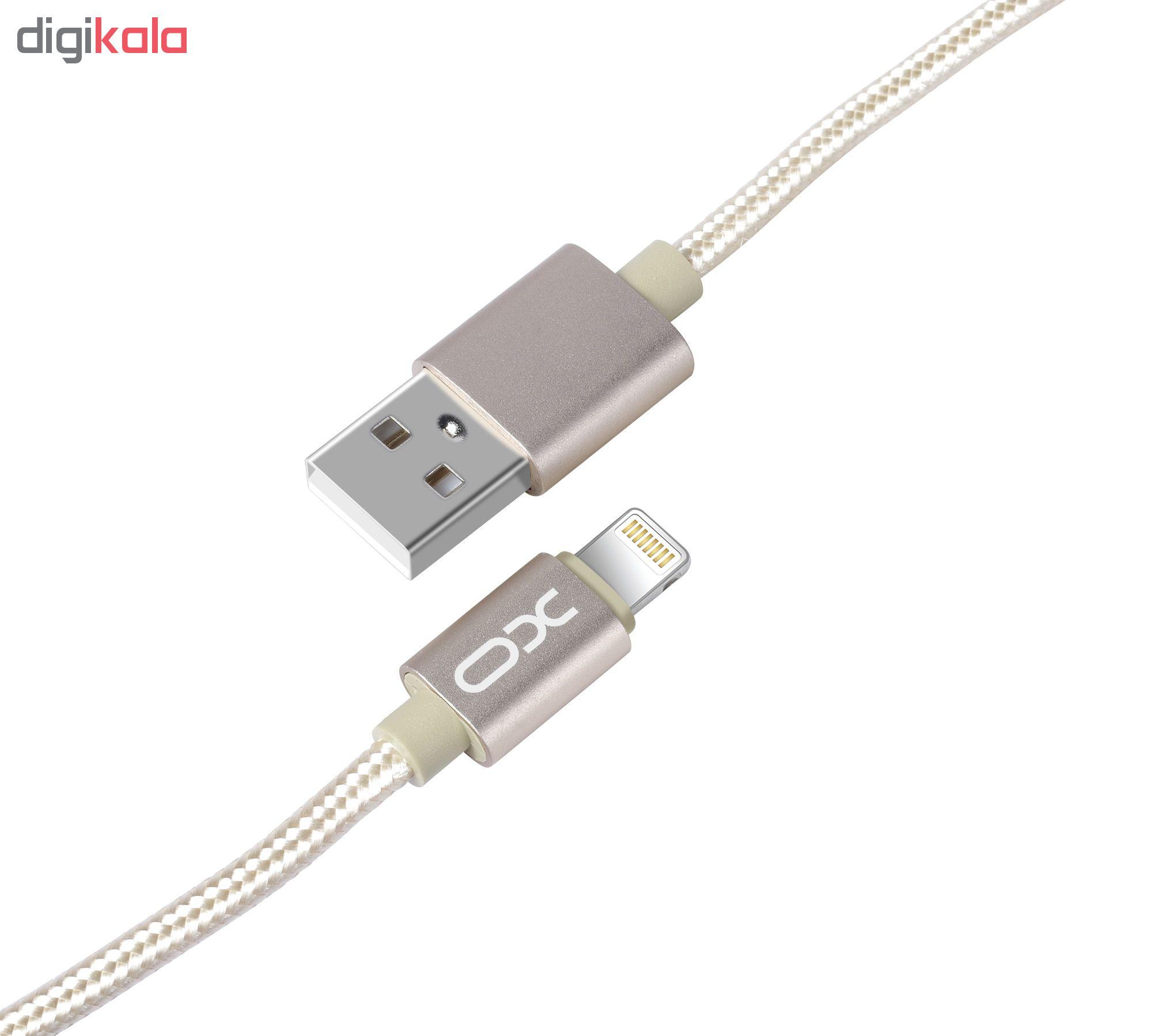 کابل تبدیل USB به لایتنینگ ایکس او مدل NB1 طول 1 متر main 1 13