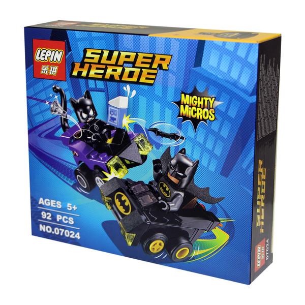 ساختنی لپین مدل Super Heroe 07024