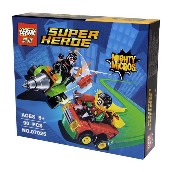 ساختنی لپین مدل Super Heroe 07025