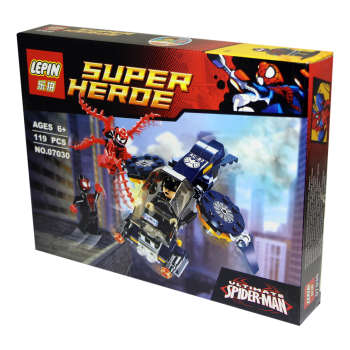 ساختنی لپین مدل Super Heroe 07030
