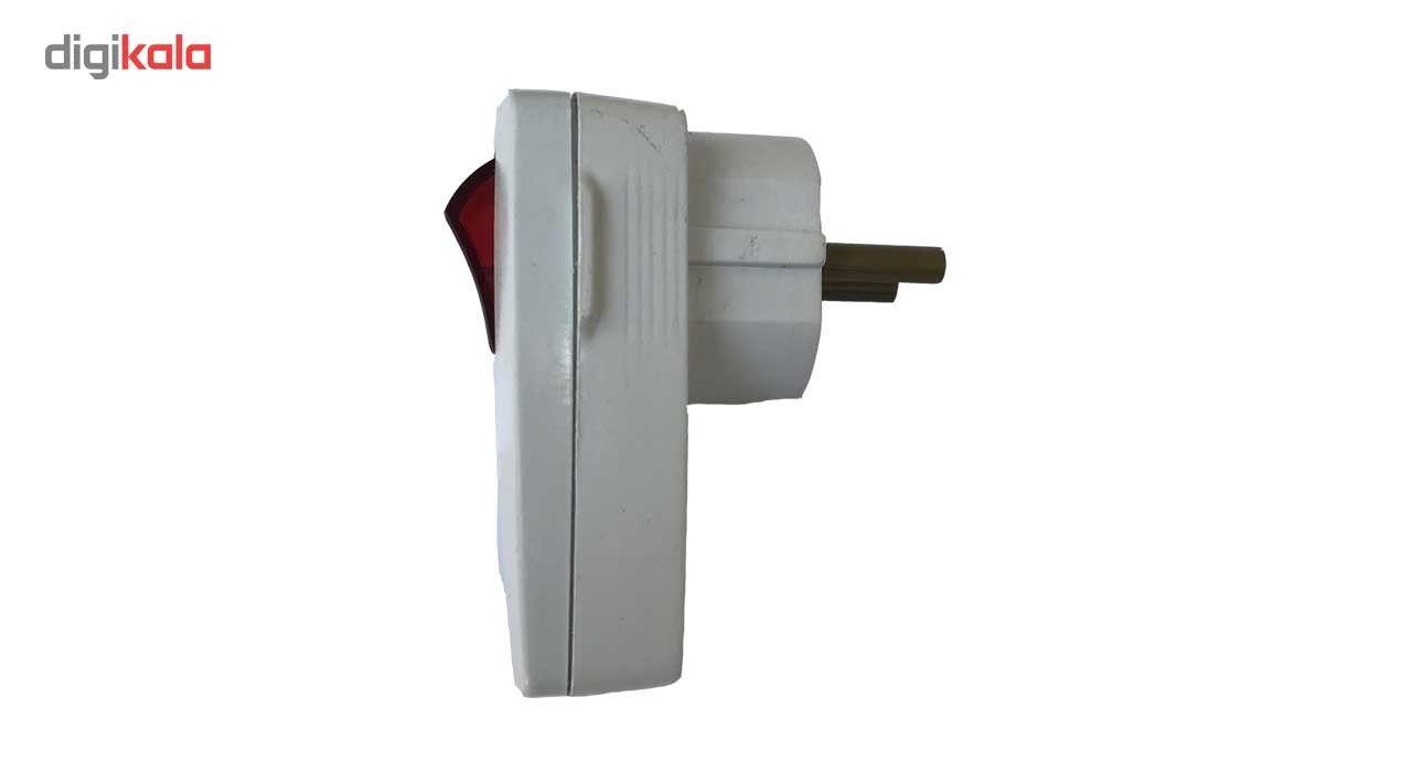 دوشاخه برق جابون مدل کلید دار main 1 2
