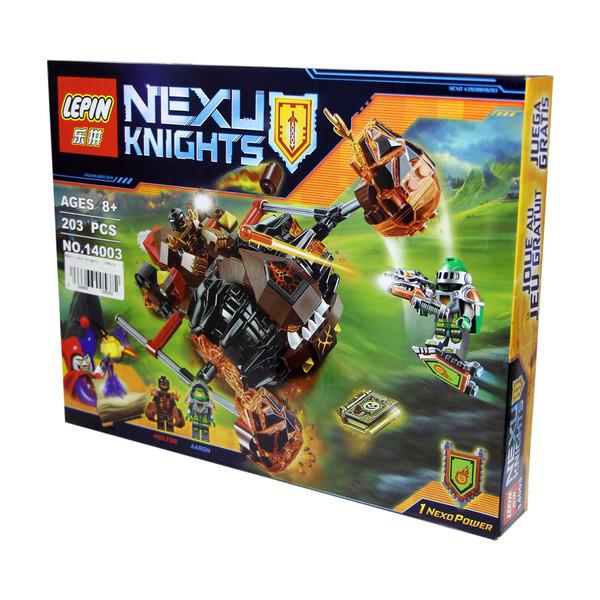 ساختنی لپین مدل Nexu Knights 14003